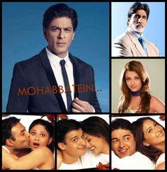 SRK et al - Mohabbatein (2000)