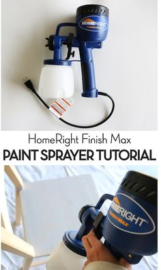 Step by Step Paint Sprayer Tutorial