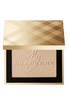 Love that this luminizing powder is infused with notes of My Burberry fragrance.