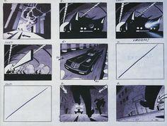 Living Lines Library: Batman (TV Series 1992–1995) - Storyboards