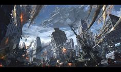 ArtStation - Battleship war, ATEC (Min Gyu Lee)