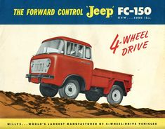 As we noted in the Jeepster Commando CC, Jeep desperately tried to find new market niches in the fifties beyond the CJ and Wagon. After the first Jeepster ...