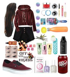 """""""YAS or nah"""" by scatteredstripes ❤ liked on Polyvore featuring beauty, Essie, Vans, Clinique, Stila, Bobbi Brown Cosmetics, Disney, S'well, Living Proof and Dr. Sebagh"""