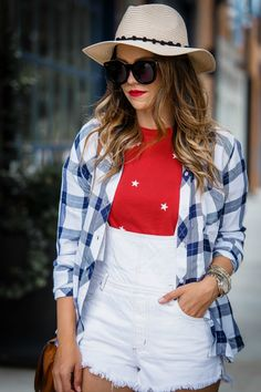 Fourth of July outfit inspo + festive picks for the holiday! | Houston Fashion Blog, The Styled Fox