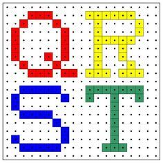 * Letters q-r-s-t