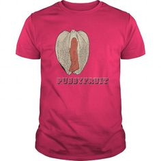 Awesome Tee Pussyfruit unusual fruit funny mother nature creations naughty sexy kinky artwork T shirts