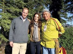 Prince William and Kate Middleton on the Canada Tour