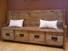 wooden bench~lov it