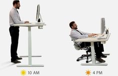 Seamlessly integrate activity into your work life with a fully motorized, height-adjustable standing desk. For increased productivity and improved health