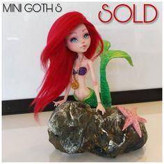 124 отметок «Нравится», 12 комментариев — Mini Goth doll maker (@sketchcotonboy) в Instagram: «Sold ... ❤️»