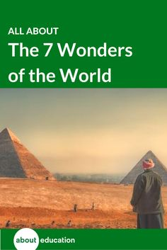 """The Seven Wonders of the World has historically been a listing of seven sites known to the Ancient Greeks as the most notable locales in their known world. Since then, many have developed lists of the """"modern"""" Seven Wonders of the World. The only list that really stands out and has stood the test of time for more than a decade is the Seven Wonders of the Modern World, developed by the American Society of Civil Engineers. Both the original wonders and the modern wonders are described here."""
