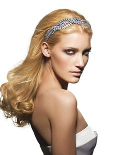 Alexandre de Paris hair accessories. Fab. Swarovski, Barrettes, Bandeau, Hair Today, My Hair, Blonde Hair, Hair Accessories, Make Up, My Style