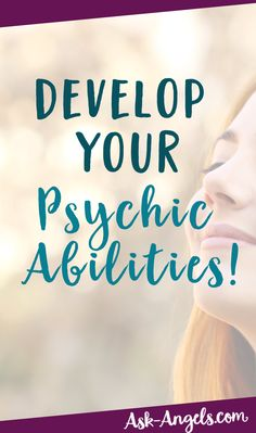You have natural psychic abilities! Discover your main psychic sense and learn how to further develop your abilities here!