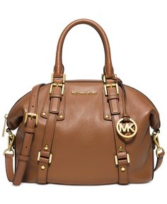MICHAEL Michael Kors Bedford Belted Medium Satchel - Handbags & Accessories - Macy's