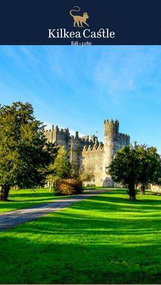 Brilliant photos taken by one of our guests at Kilkea Castle. #irishcastle #exploreireland #irishtravel #ireland #visitireland #castle #travel #luxuryhotel