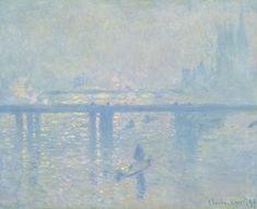 Visto 19/11/13 Claude Monet El puente de Charing Cross 1899 Óleo sobre lienzo 64,8 x 80,6 cm Colección Carmen Thyssen-Bornemisza en depósito en el Museo Thyssen-Bornemisza