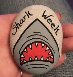 Shark Week Rock Art