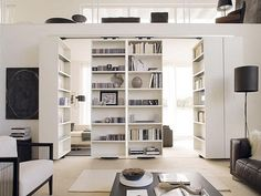 Incredible Ikea Room Divider to Border Limited Space in House: Modern Home Interior Big Bookcase Contemporary Ikea Room Divider Design ~ apcconcept.com Sliding Doors Inspiration