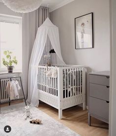 """Georgie Ludlow on Instagram: """"Stunning nursery inspiration. Tap for all the details. Thank you @sannawesters"""" Nursery Neutral, Neutral Nurseries, Nursery Inspiration, Cribs, Bed, Furniture, Instagram, Home Decor, Bedroom Neutral"""