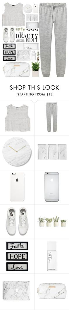 """""""Bloody nonsens, speeding cars"""" by itaylorswift13 ❤ liked on Polyvore featuring MANGO, A.P.C., Umbra, Vans, Allstate Floral, New View, NARS Cosmetics, Spectrum and Byredo"""