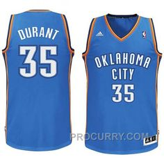 84ce0b2c84a Kevin Durant Youth Oklahoma City Thunder  35 Revolution 30 Swingman Royal Blue  Jersey
