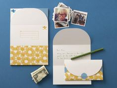 Triangle Letter HowTo Mail For Free  Triangles Snail Mail And