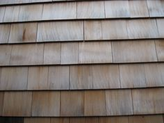 Shakes and shingles. Shingles are sawn smooth on both sides and cut tapered; Shakes are thicker than shingles and have rough 'face' with a naturally rustic appearance, and are sawn on the back House Roof, Beach Cottages, Historic Homes, House Floor Plans, Design Elements, Architecture Design, Home Improvement, Cool Designs, Red Cedar