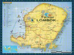 lombok indonesia | Lombok Map Indonesia