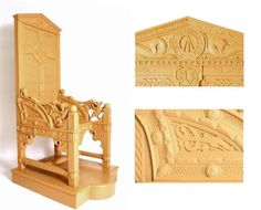Experts use 3D scanning and 3D printing to recreate Hedd Wyn's famous 'black chair'