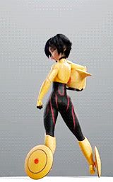"""morganagod: """" mypettentaclemonster: """" """" Gogo Tomago from Disney's Big Hero 6 """" UNF Dem hips and thighs """" I see what you're doing Disney. Disney Pixar, Disney And Dreamworks, Disney Animation, Disney Magic, Disney Movies, Big Hero 6, Gogo Tomago Cosplay, Anim Gif, Animation Reference"""