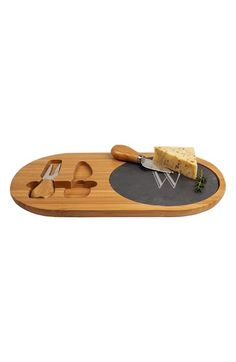 Shop this CATHY'S CONCEPTS Monogram Cheese Board & Utensils from the Nordstrom Anniversary Sale on Keep!