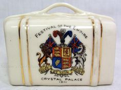 Antique Festival of the Empire    Crystal Palace 1911 Commemorative Suitcase