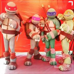 As tartarugas ninjas invadiram a Ri Happy. Que tal presentear seus pequenos com esses bonecos?