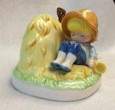 JOAN WALSH ANGLUND Little Boy Blue 1983 Ebeling & Reuss Figurine