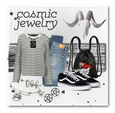 """""""Cosmic Jewelry - Aries"""" by city-mom ❤ liked on Polyvore featuring Alex and Ani, Renwil, Citizens of Humanity, Maje, NOVICA, Monki, Miss Selfridge, Marina Fini, contest and Aries"""