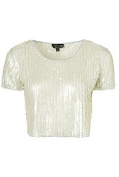 Eleanor's Sequin Heart Cropped T-Shirt - Photos, Videos, Links / Coolspotters