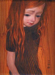 mark ryden <3 I love his use of the wood grain!!!