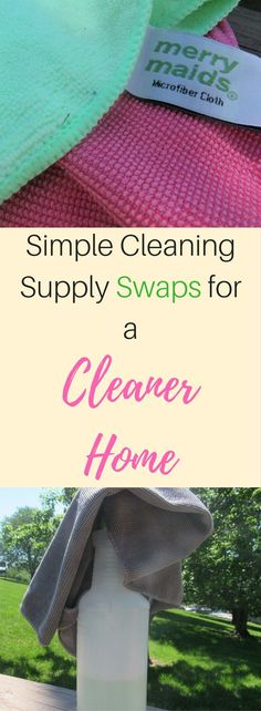 Simple Cleaning Supply Swaps for a Cleaner Home #ad |Cleaning | Cleaning Tips | Organization Tips | Spring Cleaning | Clean Your House | Cleaning Routine | Cleaning Schedule