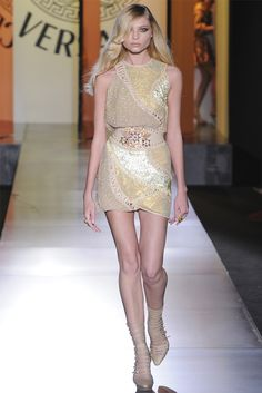 Atelier Versace Haute Couture Fall 2012 collection.