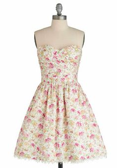 Country Party Dress, #ModCloth