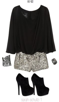 """Black Jumpsuit"" by sarah-schultz-1 on Polyvore"