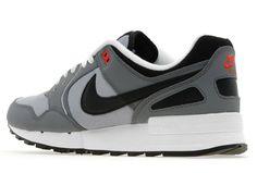 Nike Air Pegasus 89 | Wolf Grey, Black & Red