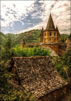 Sainte-Foy Abbey, Conques, Midi-Pyrenees, France