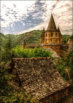 Sainte-Foy Abbey, Conques, Midi-Pyrenees, France