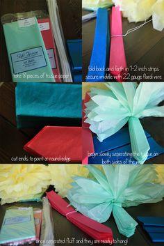 how to make tissue balls