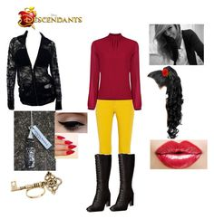 """""""Mazie Gothel  - Daughter of Mother Gothel"""" by maxinepotter ❤ liked on Polyvore"""