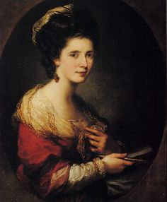 Angelica Kauffmann - Self Portrait: 1760's