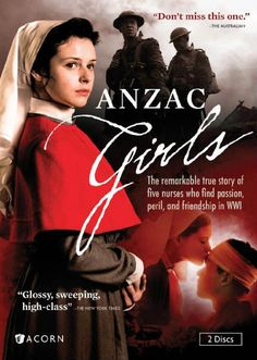 ANZAC GIRLS (DVD Debut) - Rich in detail and authenticity, the new hit Australian drama is a moving six-part miniseries based on. Period Movies, Period Dramas, Movies Showing, Movies And Tv Shows, V Drama, Romantic Movies, Drama Movies, Movies To Watch, True Stories