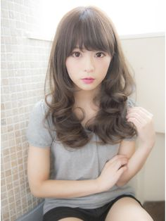 Discount Hair And Beauty Supplies Cool Hairstyles For Girls, Kawaii Hairstyles, Permed Hairstyles, Cute Hairstyles, Japanese Hairstyle, Asian Hair, Love Hair, Hair Trends, Asian Beauty