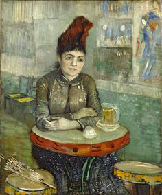Donna al Cafè Le Tambourin Vincent Van Gogh